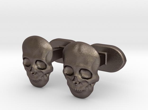 Skull face cufflinks