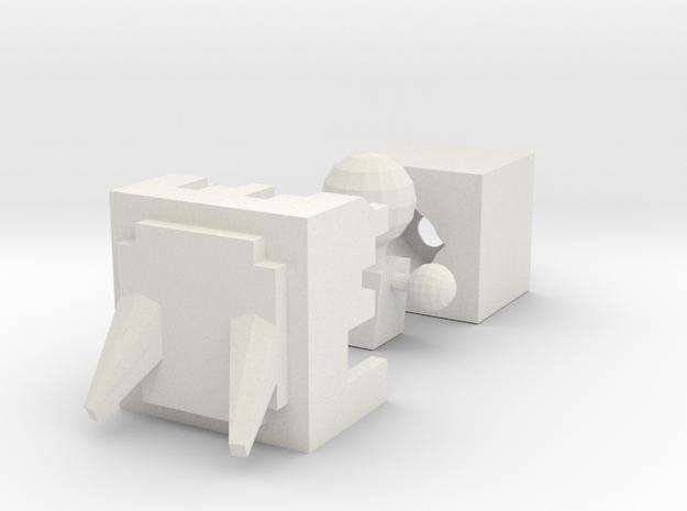 Phibrix namah WIP in White Natural Versatile Plastic