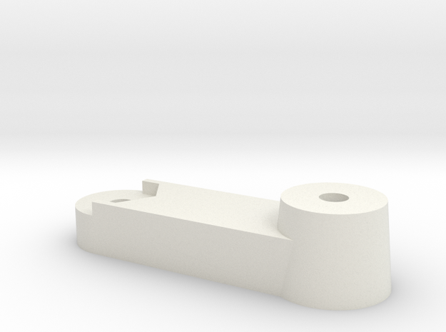 M.2 60mm to 80mm SSD bracket  in White Natural Versatile Plastic