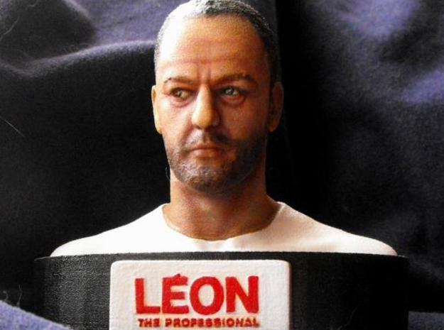 Jean Reno as Leon 3d printed painted 8cm version