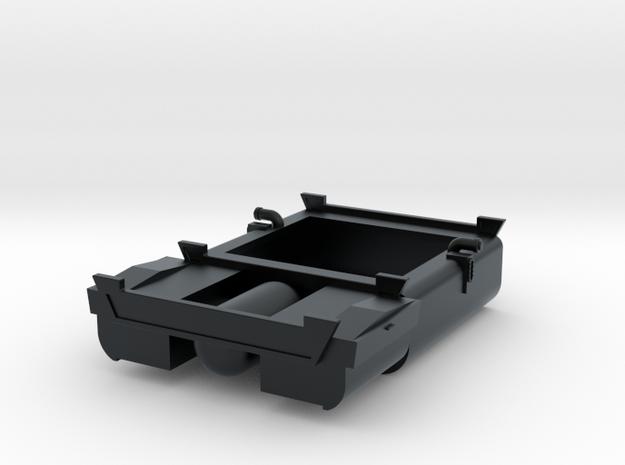 EMD F Unit Fuel Tank in Black Hi-Def Acrylate