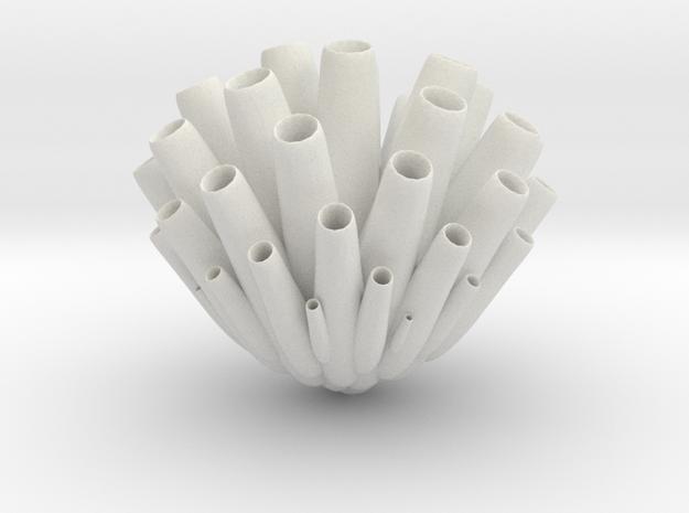 """Sea Sponge (Porifera) """"pore bearer"""" in White Strong & Flexible: 1:32"""
