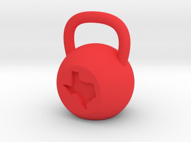 Texas - Plastic in Red Processed Versatile Plastic