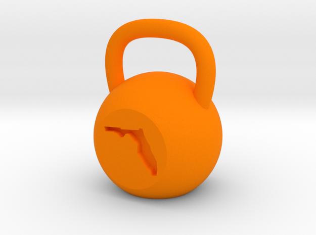 Florida - Plastic in Orange Strong & Flexible Polished
