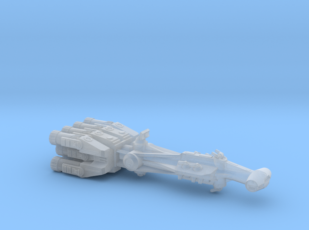 Rebellious Spaceship, 1:4000 in Smoothest Fine Detail Plastic