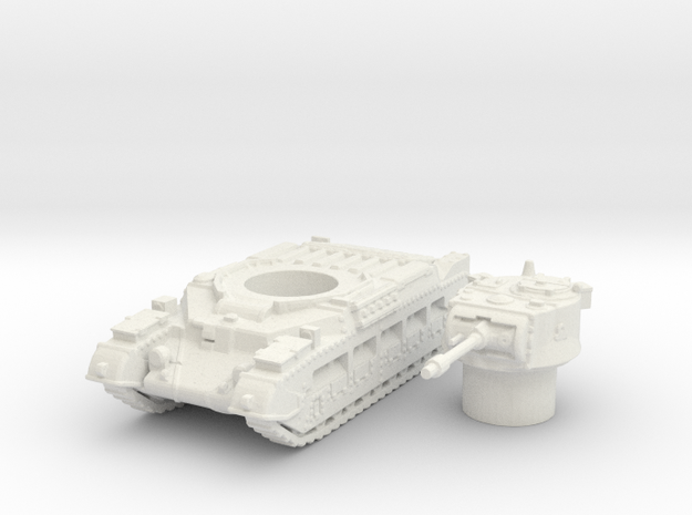Matilda II tank (British) 1/144 in White Strong & Flexible