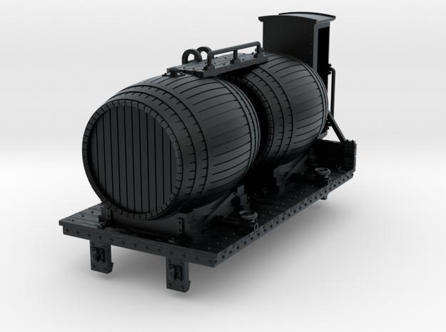 HOe-wagon03 - Barrel wagon crate