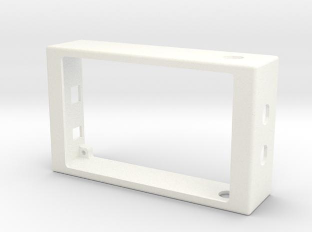 EnclosureTop2 in White Processed Versatile Plastic