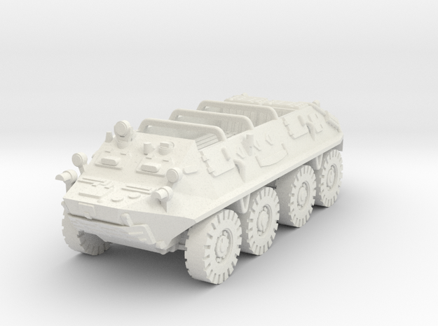 Btr 60 Open Vehicle 1/87 in White Strong & Flexible