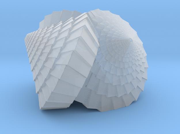 Tri-Cone Lamp in Smooth Fine Detail Plastic