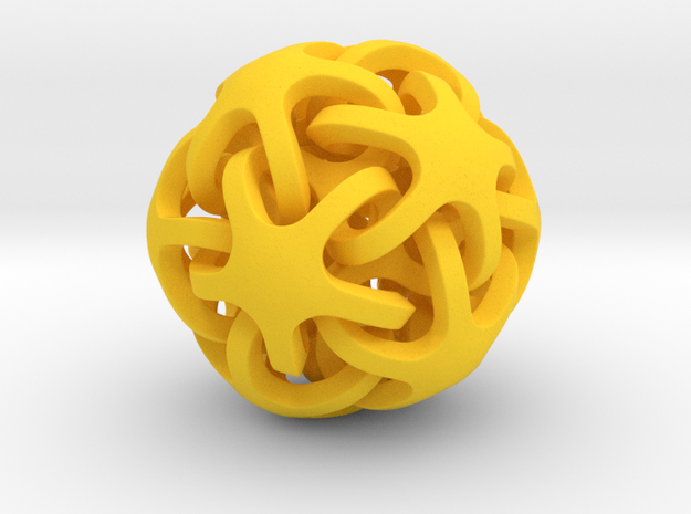 Interlocking Ball based on Dodecahedron