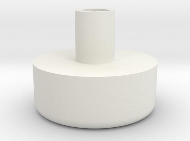 Vornado 530 Knob in White Natural Versatile Plastic
