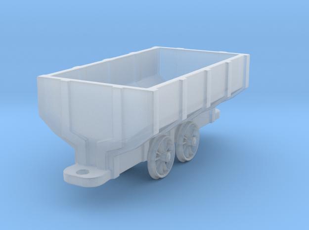 Wooden Mine Car - HOn3 in Smoothest Fine Detail Plastic: 1:87 - HO