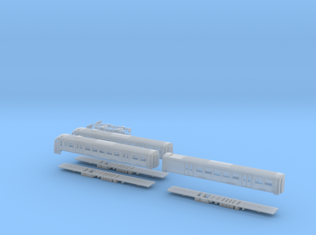 Scotrail Class 334 N Gauge in Smooth Fine Detail Plastic
