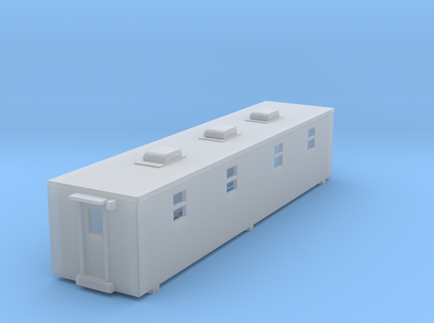 NS Camp Car Recreation Trailer (N) in Smooth Fine Detail Plastic