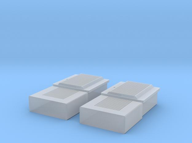 TJ-H01107x2 - boitiers electriques maison individu in Smooth Fine Detail Plastic
