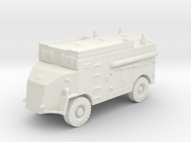 Dorchester AEC 4x4 (British) 1/144 in White Natural Versatile Plastic