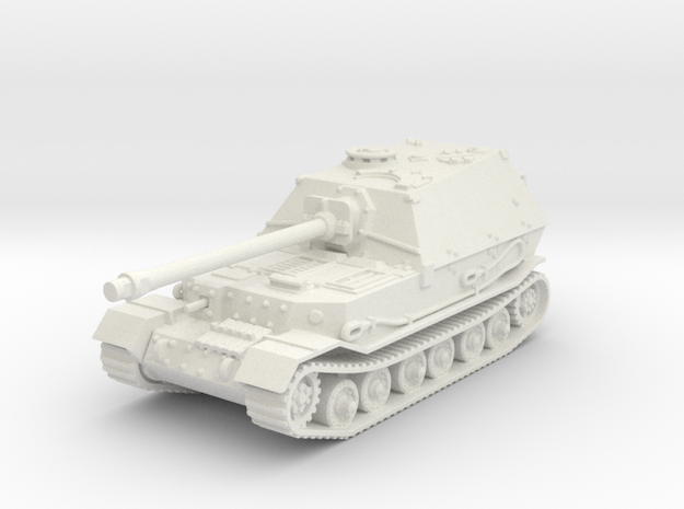 Elefant tank (Germany) 1/100 in White Natural Versatile Plastic