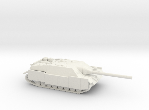 Jagdpanzer IV tank (Germany) 1/144 in White Natural Versatile Plastic