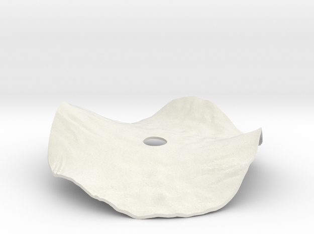 Helianthus Cover Lid in White Strong & Flexible