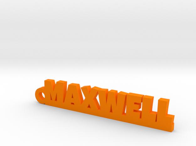 MAXWELL Keychain Lucky in Orange Processed Versatile Plastic
