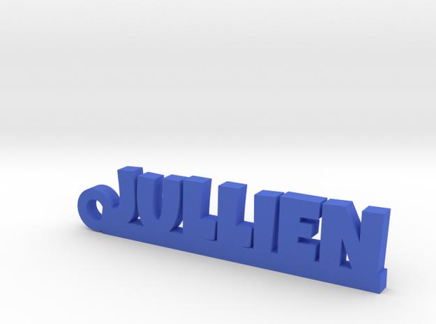 JULLIEN Keychain Lucky in Blue Processed Versatile Plastic