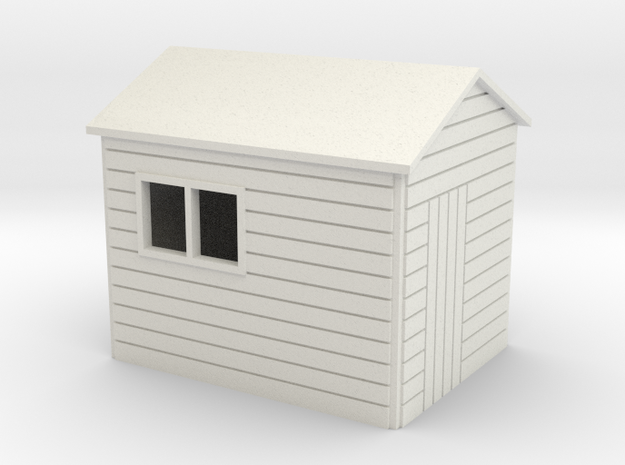 Garden Shed 8x6 ft 7mm scale