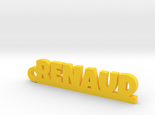 RENAUD Keychain Lucky in Yellow Processed Versatile Plastic