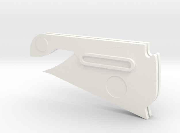 Firespray Stand Parts in White Strong & Flexible Polished