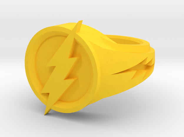 Flash Ring in Yellow Strong & Flexible Polished