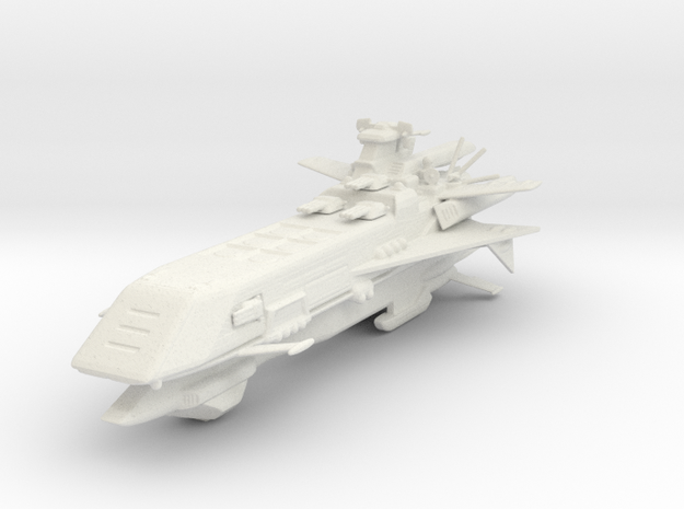 Star Sailers - Theseus Refit - Deployment Vessel in White Natural Versatile Plastic