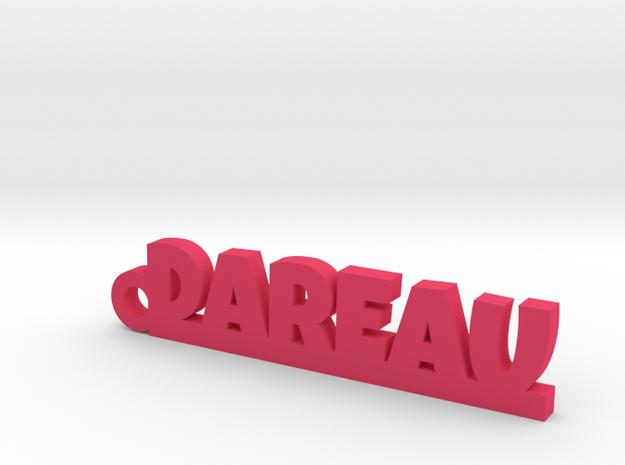 DAREAU Keychain Lucky in Pink Processed Versatile Plastic