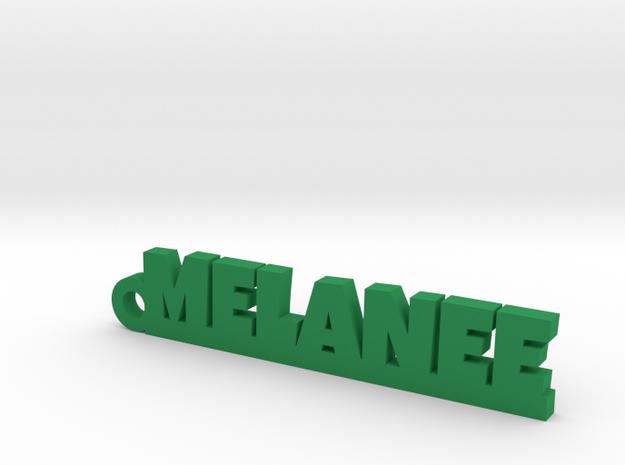 MELANEE Keychain Lucky in Green Processed Versatile Plastic