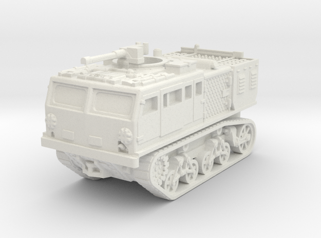 M4 tractor (USA) 1/100 in White Natural Versatile Plastic