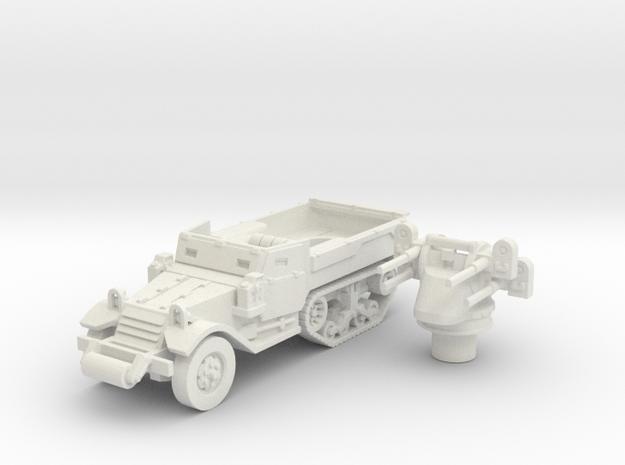 M3 Half-track roller (Usa) 1/100 in White Natural Versatile Plastic