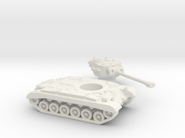 M26 Pershing (USA) 1/200 in White Strong & Flexible