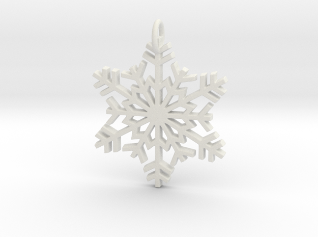 Snowflake in White Strong & Flexible
