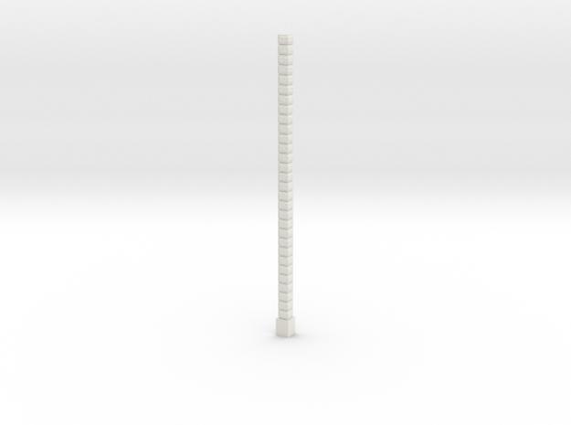 Oea02 - Architectural elements 1 in White Natural Versatile Plastic