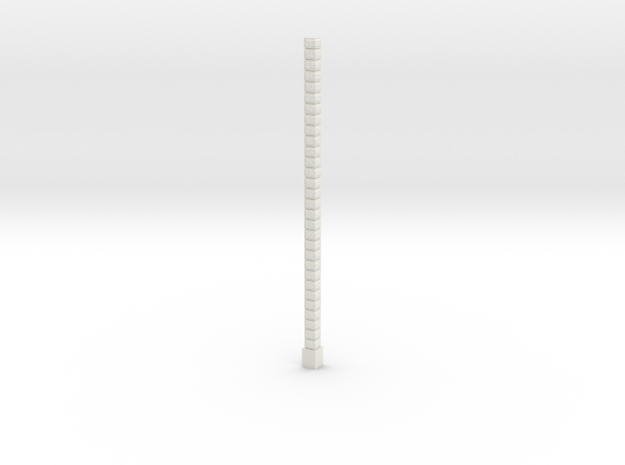 Oea02 - Architectural elements 1 in White Natural Versatile Plastic