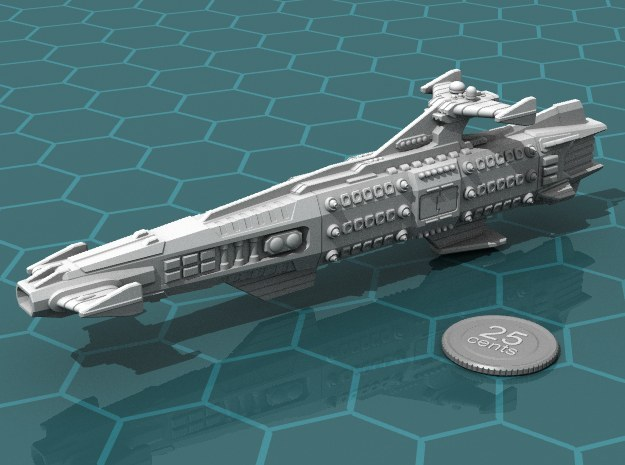Ikennek Battleship in White Strong & Flexible