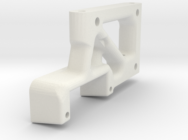 Bremsservohalter 03.17 in White Natural Versatile Plastic