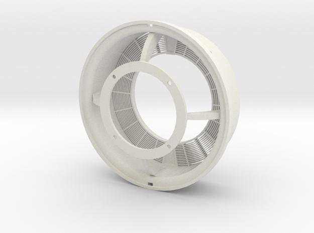 Pica FW190 D9 Radiator in White Natural Versatile Plastic