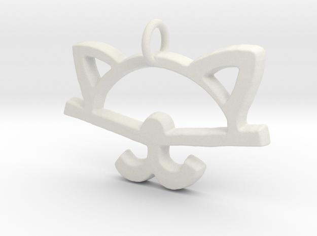 Meaw in White Natural Versatile Plastic
