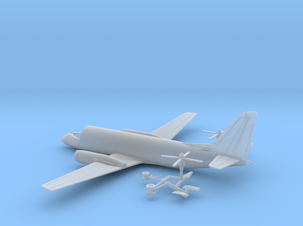 041A Grumman G-159 Gulfstream 1/144 FUD in Frosted Ultra Detail