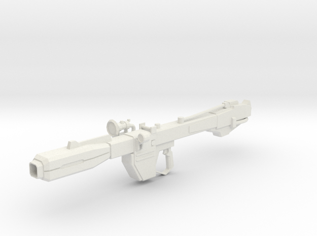 Beam Bazooka 1-100 in White Strong & Flexible