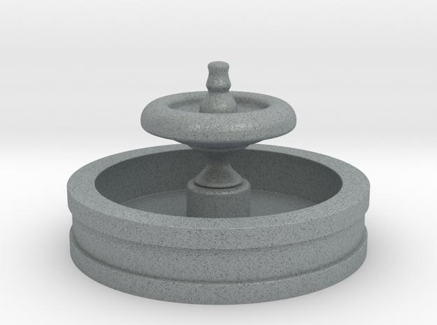 Fountain 2in Diameter in Polished Metallic Plastic