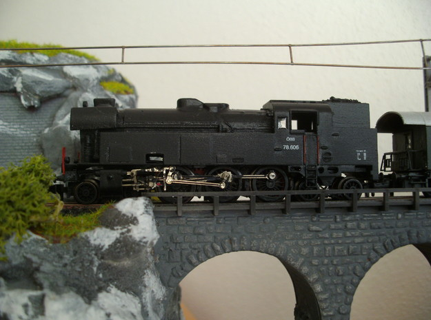 ÖBB 78, Spur-N in Smooth Fine Detail Plastic