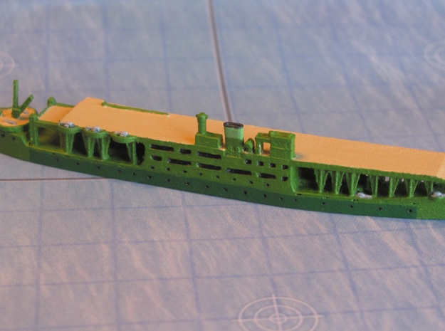 Akitsu Maru (1942) 1/1800 3d printed Expertly painted by Intravenous99