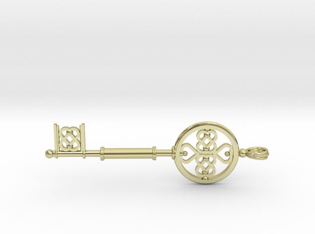Key To The Heart (medium) in 18k Gold