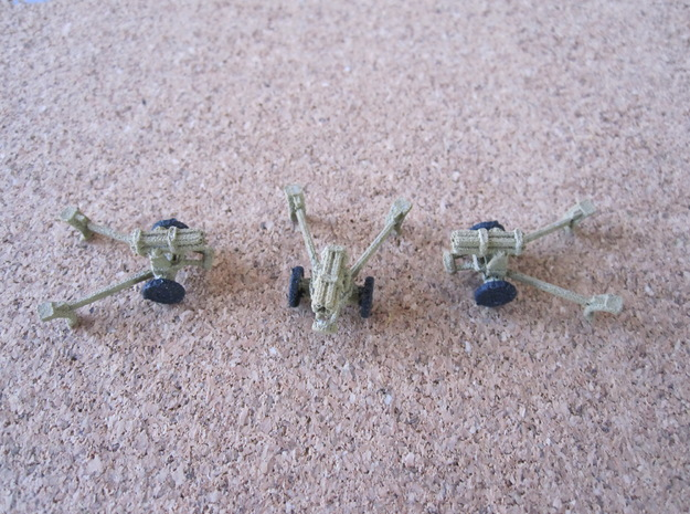 1/144 German Nebelwerfer set of 3 3d printed